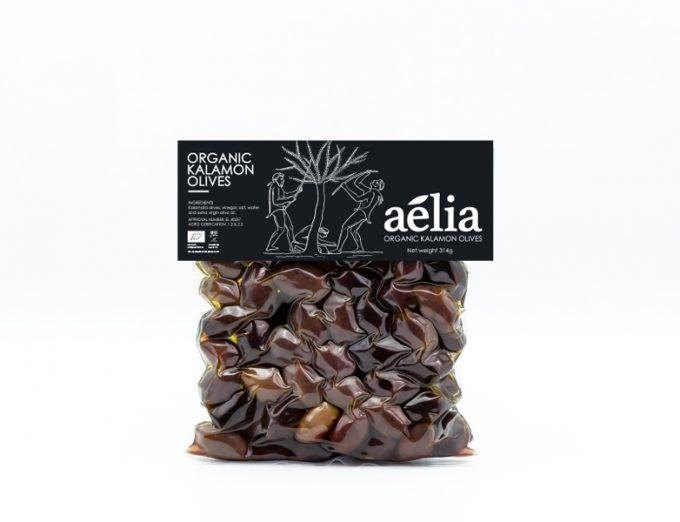Organic Kalamata Olives 580ml